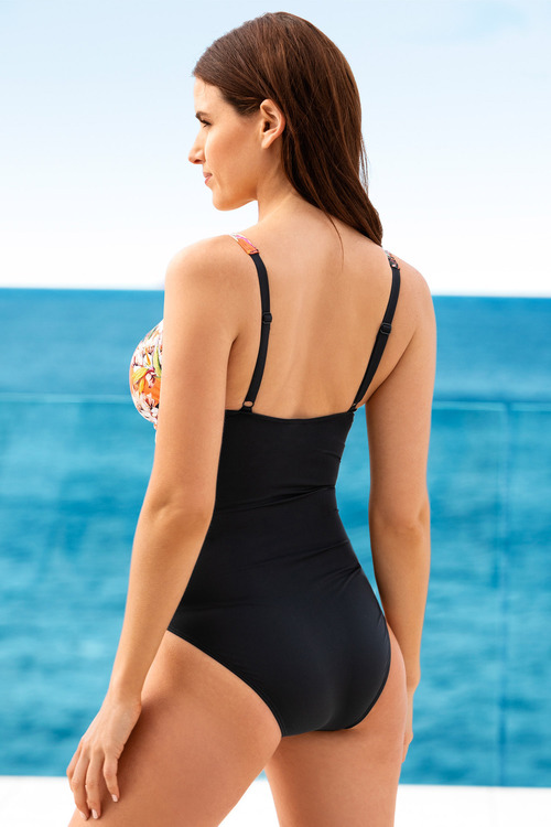 Quayside Secret Support Wrap Bodice Swimsuit