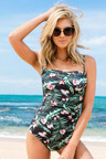 Quayside Secret Support Bandeau Swimsuit
