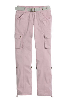 Urban Utility Pants with Belt