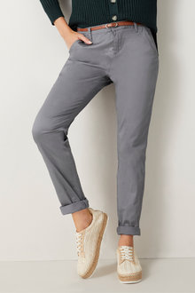 Urban Belted Chino Pants - 77628