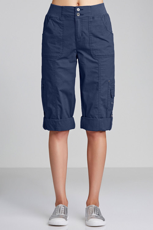 Capture EziFit Crop Cargos