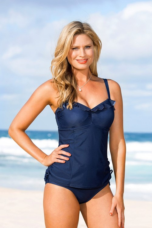Quayside Secret Support Ruffle Swimsuit