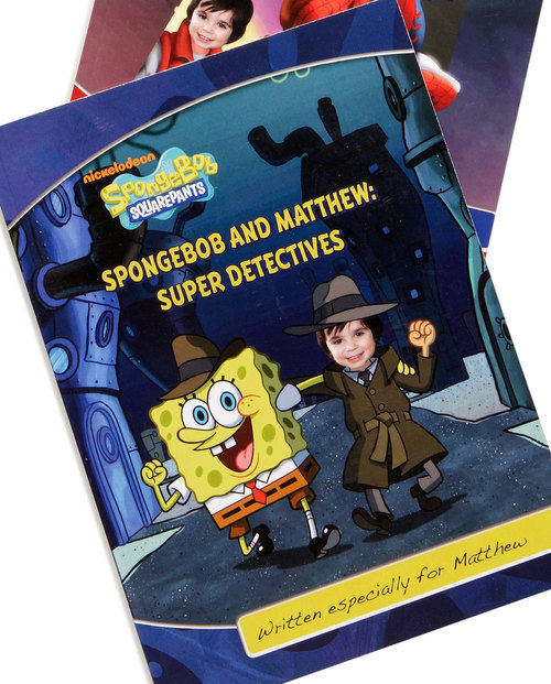 Sponge Bob Personalised Photo Book