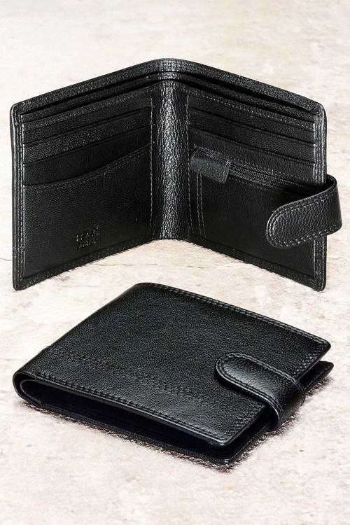 Next Leather Popper Wallet