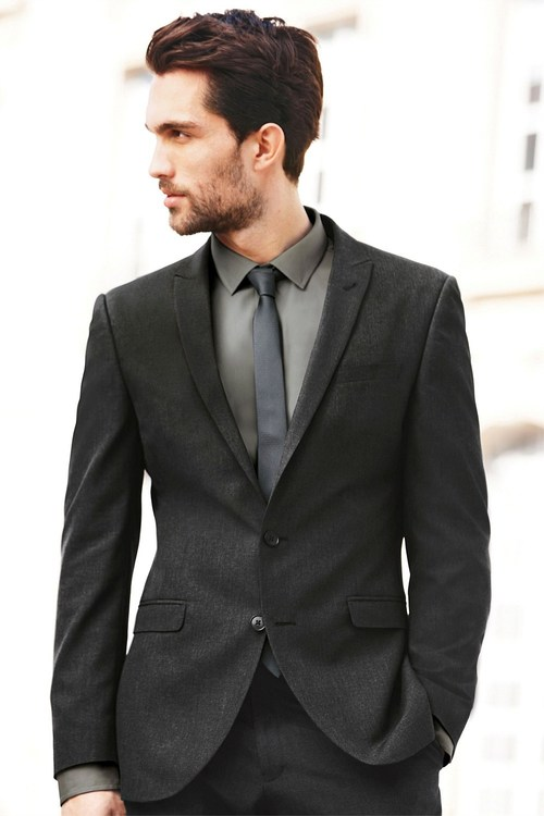 Next Slim Fit Suit Jacket