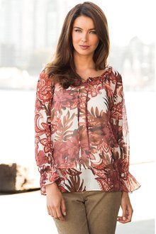 Capture Printed Tunic