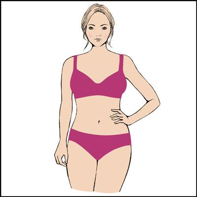 Plus Size Hourglass body shape