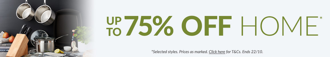 Save up to 50% off home, and up to 75% off Royal Comfort - Ends 22nd October