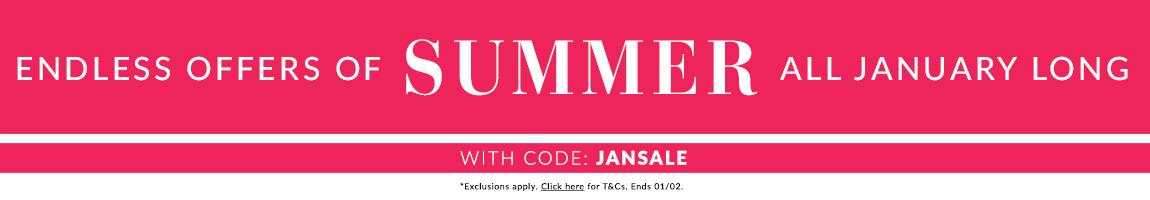 Shop the Final Summer Sale