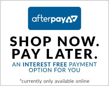 Afterpay now avavliable