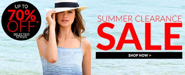 Shop Summer Clearance Sale