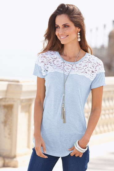 Together Lace Detail Top