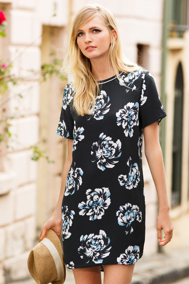 New Look Michaela Sports Rib Dress