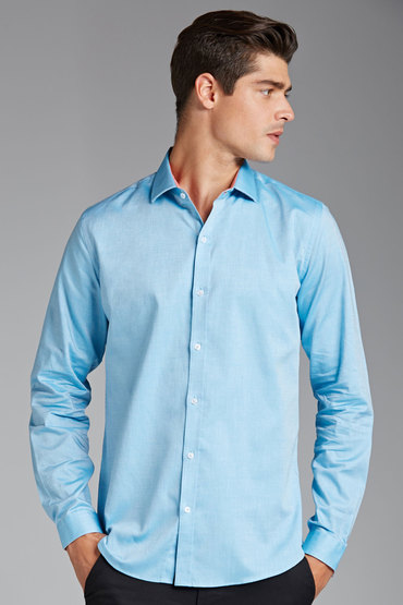 Pierre Cardin Solid Oxford Shirt