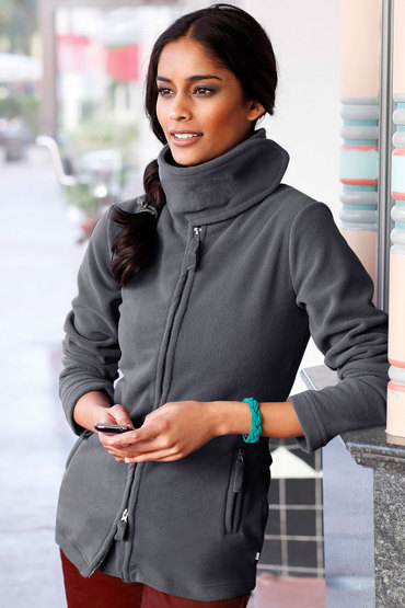 Urban Fleece Zip Through Jacket