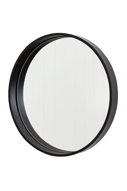 Round Mirror Wooden Frame Nz Round Decorating Ideas