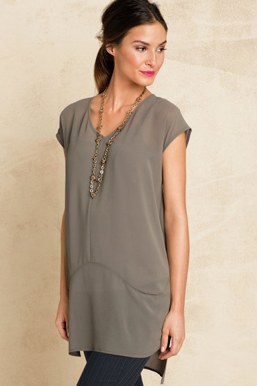 Grace Hill Panel Tunic