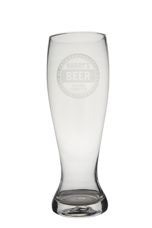 Personalised Giant Beer Glass - Beer Lovers
