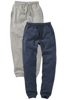 Next Two Pack Joggers (3-16yrs)