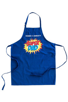 Personalised Super Dad Apron