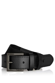 Next Black Leather And Elastic Belt (4-16yrs)