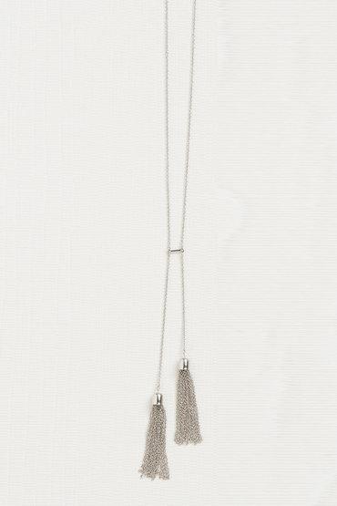 Double Tassel Necklace