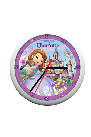Personalised Disney Sofia the First Clock