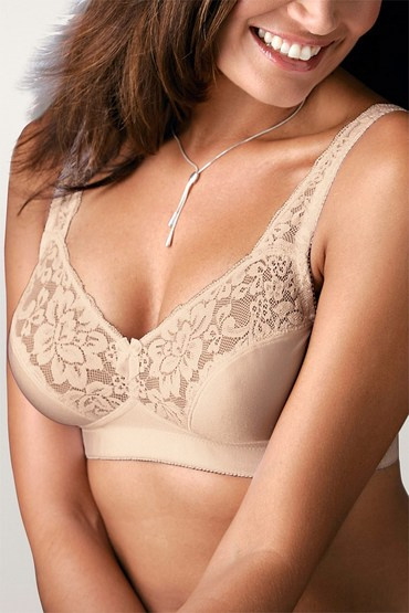Mia Lucce Two Pack Lace Soft Cup Bra