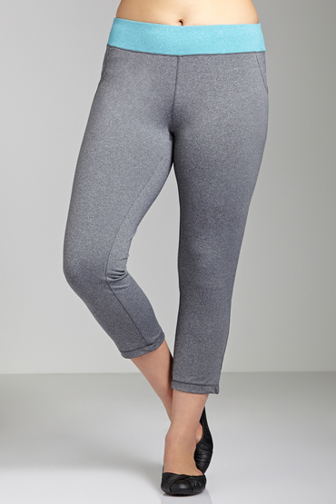 Plus Size - Addition Elle Active Capri