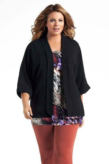 Capture Woman Drape Jacket