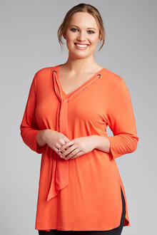 Plus Size - Sara Bow Tunic