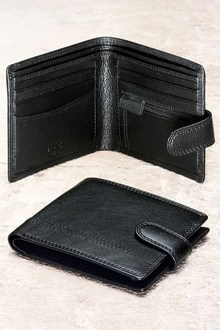 Next Leather Popper Wallet