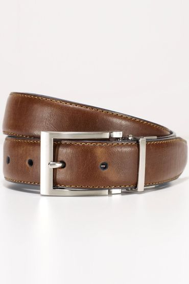 Next Tan And Navy Reversible Belt