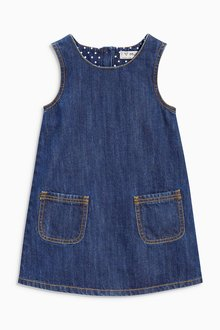 Next Denim A-Line Dress (3mths-6yrs)