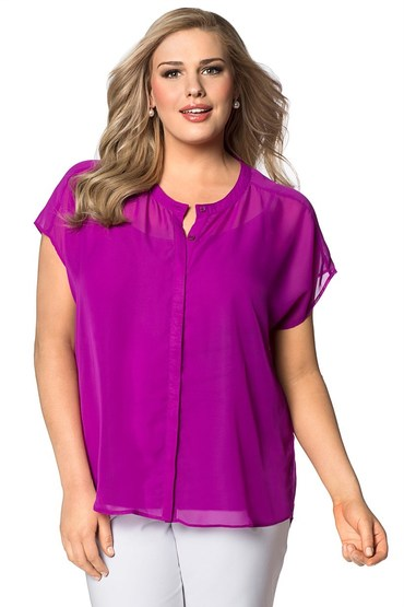 Plus Size - Emerge Woman Woven Top
