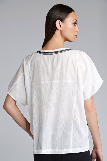 Capture Embroidered Top