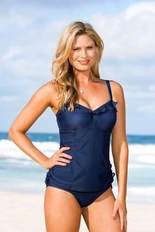 Quayside Secret Support Ruffle Swimsuit