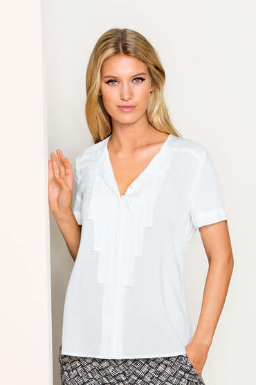 Emerge Pleat Front Shirt
