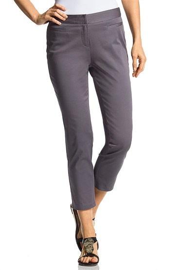 Capture Sateen Straight Leg 7/8 Pants