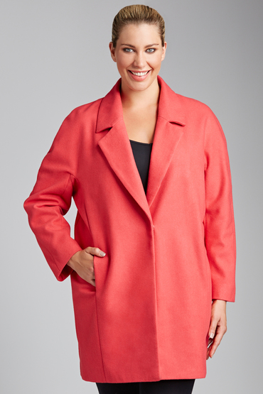 Plus Size - Sara The Coat