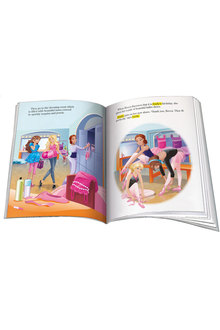 Personalised Adventure Book Ballerina Barbie