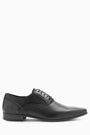 Next Perforated Oxford Lace-Up
