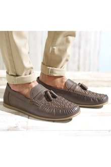 Next Weave Tassel Loafer