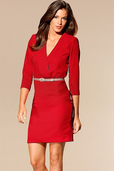 Heine Cross Front Dress