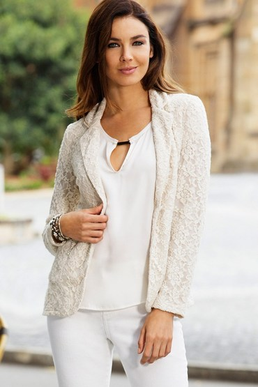 Capture Lace Blazer