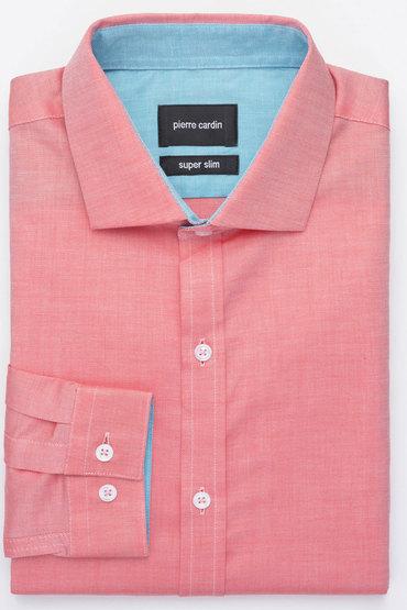 Pierre Cardin Solid Oxford Shirt
