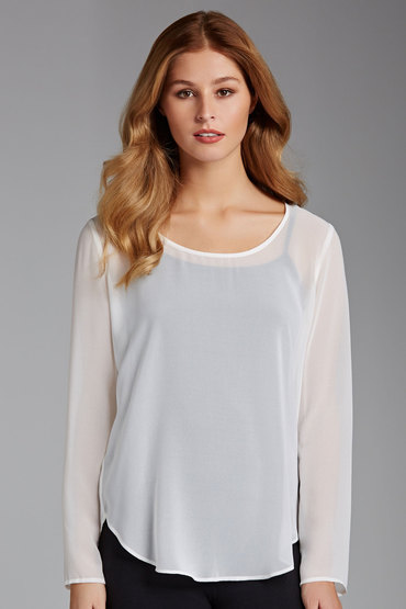 Capture Long Sleeve Shell Top
