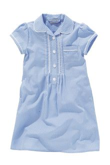 Next Lace Gingham Dress (3-14yrs)