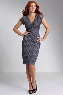 Grace Hill Lace Layered Dress - 85884
