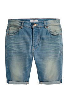 Next Skinny Denim Shorts